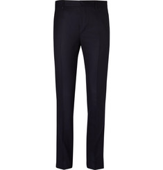 Prada - Slim-Fit Super 120s Wool-Flannel Trousers