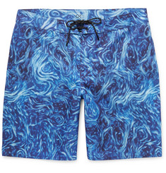 Outerknown Nomadic Mid-Length Printed Swim Shorts