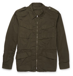 Aspesi Cotton-Twill Field Jacket
