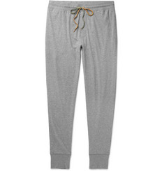 Paul Smith Tapered Mélange Cotton-Jersey Sweatpants
