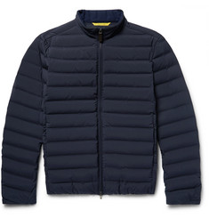 Canali Water-Repellent Quilted Shell Down Jacket