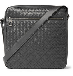 Bottega Veneta - Intrecciato Leather Messenger Bag