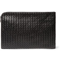 Bottega Veneta Intrecciato Leather Portfolio