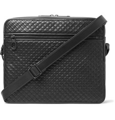 Bottega Veneta Quilted Leather Messenger Bag