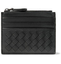 Bottega Veneta Intrecciato Leather Zipped Cardholder