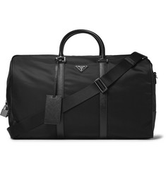 Prada - Saffiano Leather-Trimmed Nylon Holdall