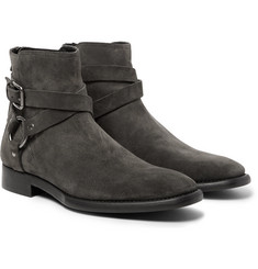Dolce & Gabbana - Suede Harness Boots