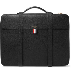 Thom Browne - Convertible Pebble-Grain Leather Portfolio Backpack