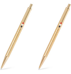 Thom Browne - Gold-Tone Pen and Pencil Set