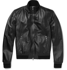 Dolce & Gabbana - Slim-Fit Leather Jacket