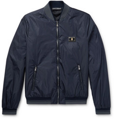 Dolce & Gabbana Slim-Fit Padded Nylon Bomber Jacket