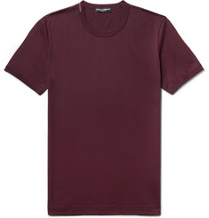 Dolce & Gabbana Slim-Fit Cotton-Jersey T-Shirt