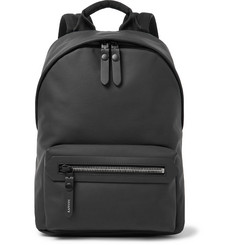 Lanvin Rubberised-Leather Backpack