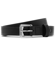 Lanvin - 2cm Black Leather Belt