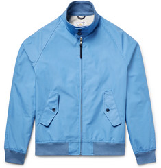 Golden Bear Poplin Bomber Jacket