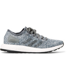 Adidas Sport - Pureboost Stretch-Knit Sneakers