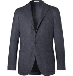 Boglioli Unstructured Wool, Cotton and Cashmere-Blend Blazer