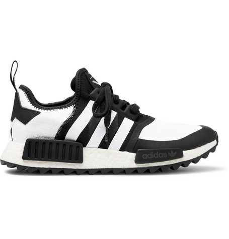 0f2f94060fe9 Adidas Originals + White Mountaineering Nmd R1 Trail Primeknit Sneakers In  Black