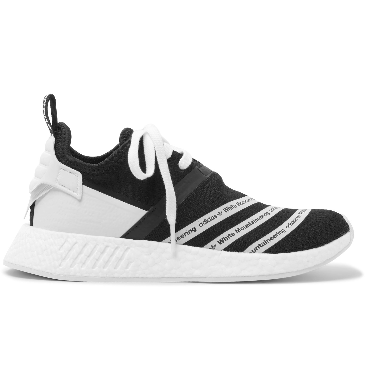 84e00bc1852ac Adidas Originals White NMD R2 Primeknit trainers Browns Fashion