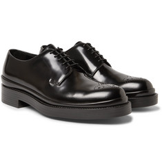 Prada - Spazzolato Leather Brogues