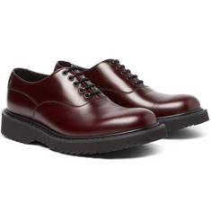 Prada - Leather Oxford Shoes