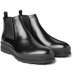 Prada - Leather Chelsea Boots