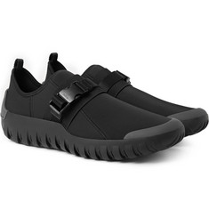 Prada - Rubber-Trimmed Neoprene Sneakers