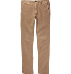 Incotex - Slim-Fit Stretch-Cotton Panama Chinos