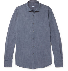 Incotex Ween Puppytooth Cotton Shirt