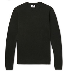 NN07 Phil Ribbed Cotton Sweater