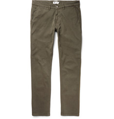NN07 - Marco Slim-Fit Garment-Dyed Stretch-Cotton Twill Chinos