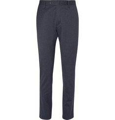 NN07 Theo Slim-Fit Mélange Stretch Trousers