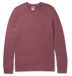 NN07 Alex Brushed Loopback Cotton-Jersey Sweatshirt