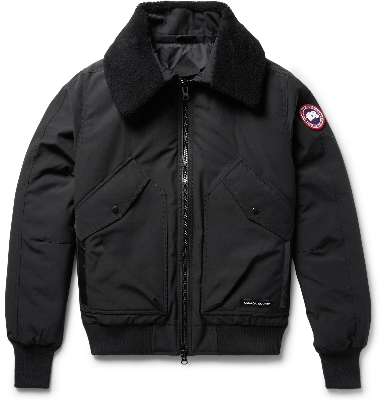 canada goose quilted tech canvas parka