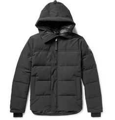 Canada Goose - Black Label Macmillan Quilted Shell Hooded Down Parka