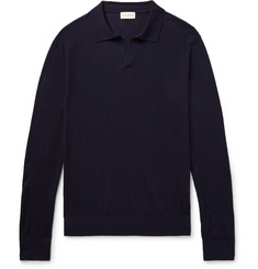 Club Monaco Johnny Merino Wool, Silk and Cashmere-Blend Sweater
