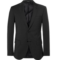 Club Monaco Grey Grant Slim-Fit Stretch-Wool Blazer