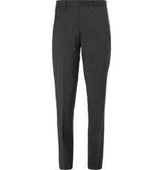 Club Monaco Charcoal Grant Slim-Fit Stretch-Wool Trousers