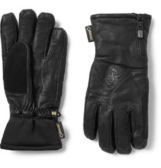 Burton - Guide Leather, GORE-TEX and Stretch-Jersey Gloves