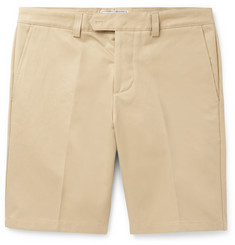 AMI - Slim-Fit Cotton-Drill Chino Shorts