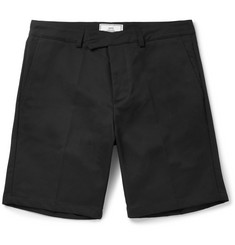 AMI Slim-Fit Cotton-Drill Chino Shorts