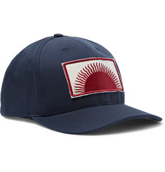 Mollusk Appliquéd Cotton-Canvas Baseball Cap