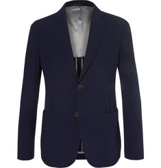 Giorgio Armani - Upton Virgin Wool-Blend Seersucker Suit Jacket