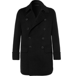 Giorgio Armani Cashmere-Blend Double-Breasted Coat