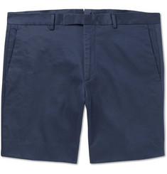 Ralph Lauren Purple Label Eaton Slim-Fit Stretch-Twill Shorts