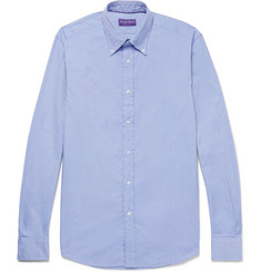 Ralph Lauren Purple Label Cameron Button-Down Collar Cotton Oxford Shirt