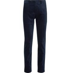 Ralph Lauren Purple Label Slim-Fit Stretch-Cotton Corduroy Trousers