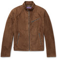 Ralph Lauren Purple Label - Randall Suede Café Racer Jacket