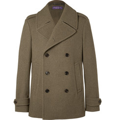 Ralph Lauren Purple Label - Warrington Felted Wool Peacoat