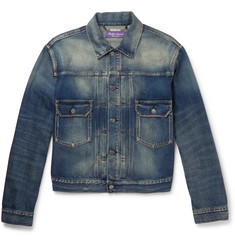 Ralph Lauren Purple Label Perry Denim Trucker Jacket